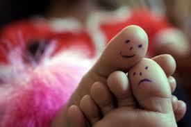 Images sourire pieds