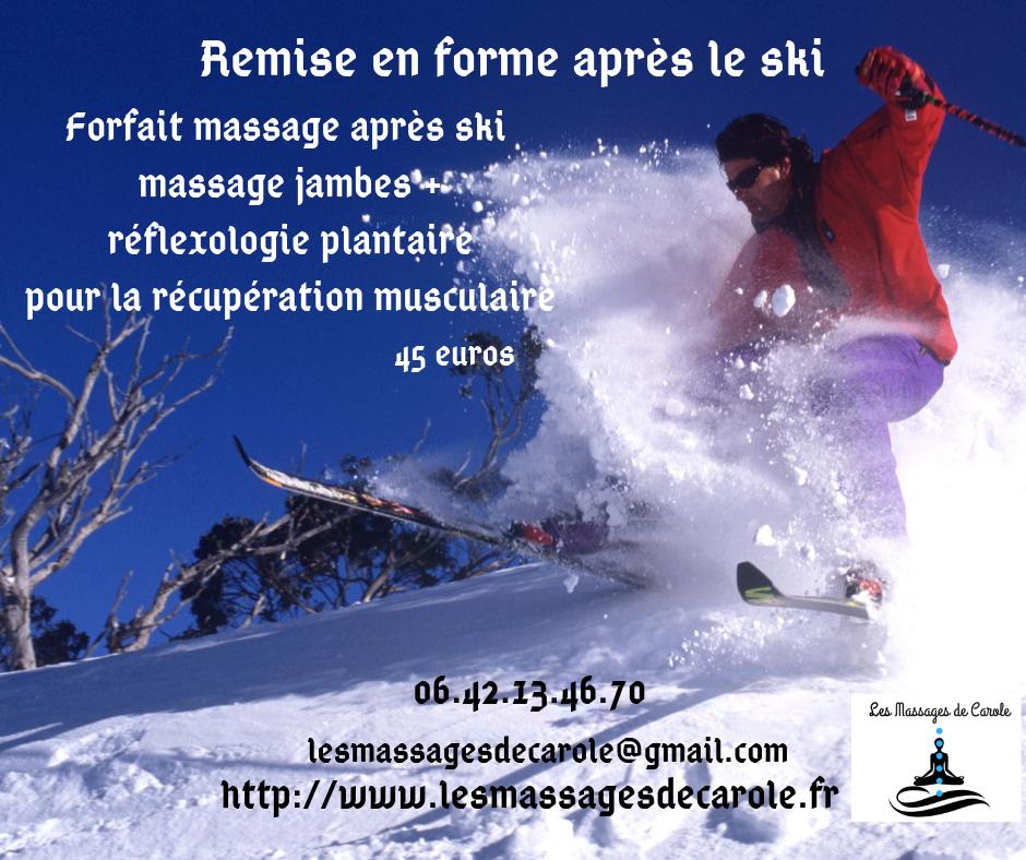 Remise en forme apres le ski