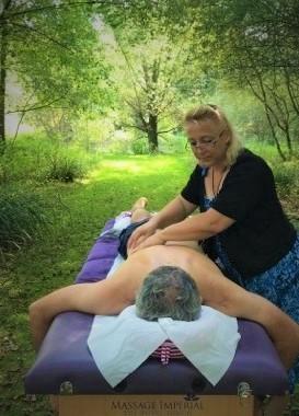 massage dos en chambre d'hôte