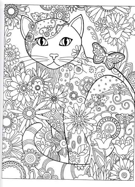 Coloriage anti stress adulte