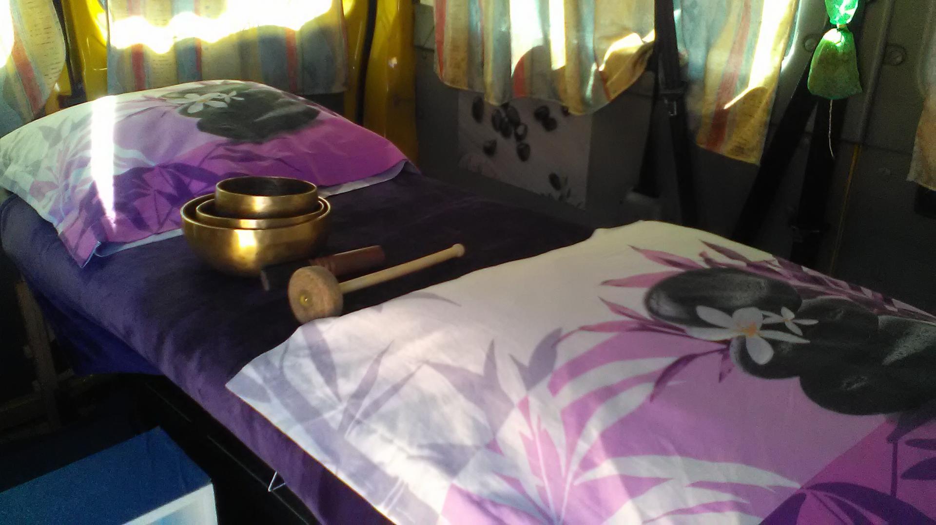 Massage en cabinet de massage  mobile